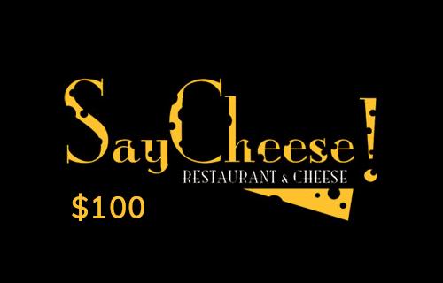 Say Cheese! Gift Card